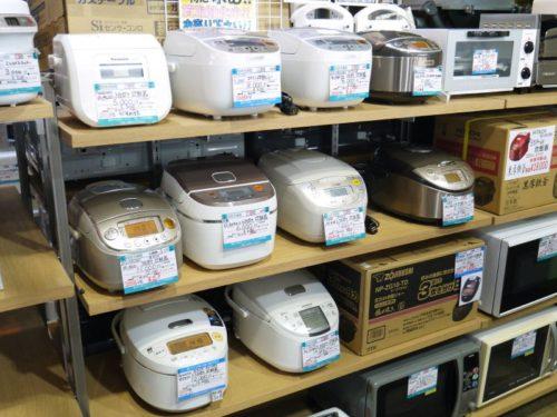 炊飯器 炊飯ジャー 高く売るコツ 清潔に長く使うためのメンテナンス方法教えます! リサイクルショップ四次元ポケット十和田店